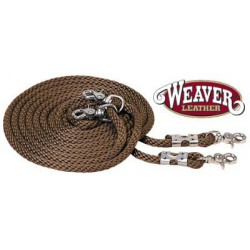DRAW REINS WEAVER LEATHER