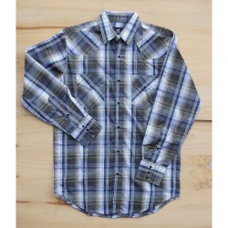 CHEMISE WESTERN A CARREAUX