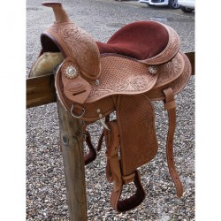 SELLE WESTERN PONEY H'WEST