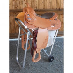 SELLE WESTERN CONTINENTAL COMFORT
