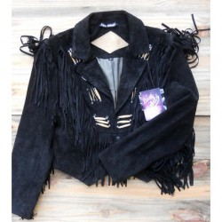 VESTE A FRANGES LAST REBEL'S