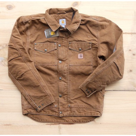 sale usa online super popular half off BLOUSON CARHARTT BERWICK (2coloris)