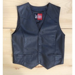GILET CUIR LAST REBELS
