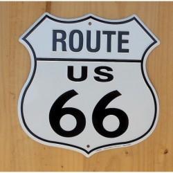PLAQUE METAL ROUTE 66