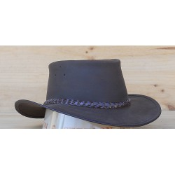 CHAPEAU CUIR JACARU ADVENTURE OIL (2coloris)