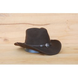 CHAPEAU IDAHO MARRON