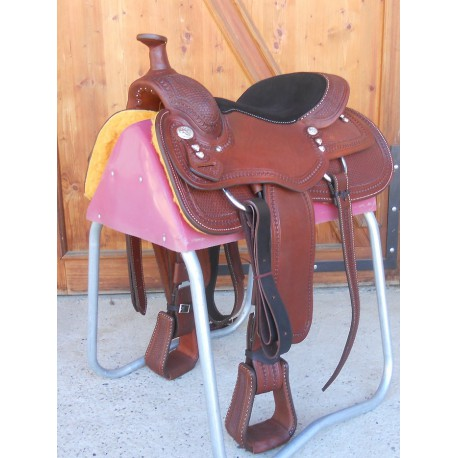 SELLE WESTERN POOL'S WORKING COW GENUINE