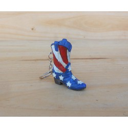 PORTE CLEFS BOTTE USA