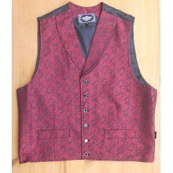 GILET OLD STYLE RED BLUFF