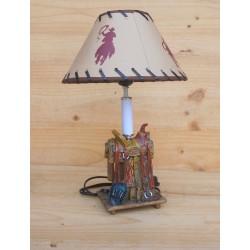 LAMPE SELLE WESTERN