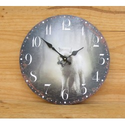 "MONTRE MURALE ""TWILIGHT WOLF"""