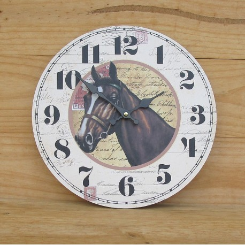 "MONTRE MURALE ""HORSE"""