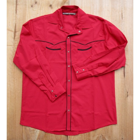 CHEMISE COUNTRY WESTERN ATTITUDE