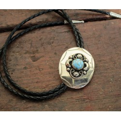 BOLO TIES ARGENT (German silver)