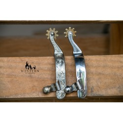 EPERONS WESTERN INOX/ARGENT