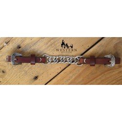 GOURMETTE SINGLE CHAINS WEAVER LEATHER