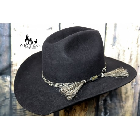 CHAPEAU AKUBRA ROUGH RIDER BLACK
