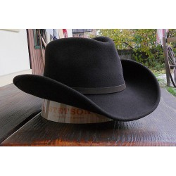 CHAPEAU STETSON BANGS MARRON