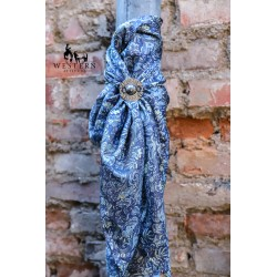 FOULARD SOIE FRONTIER CALICO WYOMING TRADERS