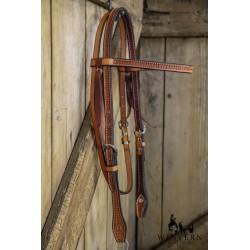 BRIDON SPIDER STAMP COWBOY TACK