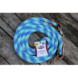 POLY ROPER REINS WEAVER LEATHER